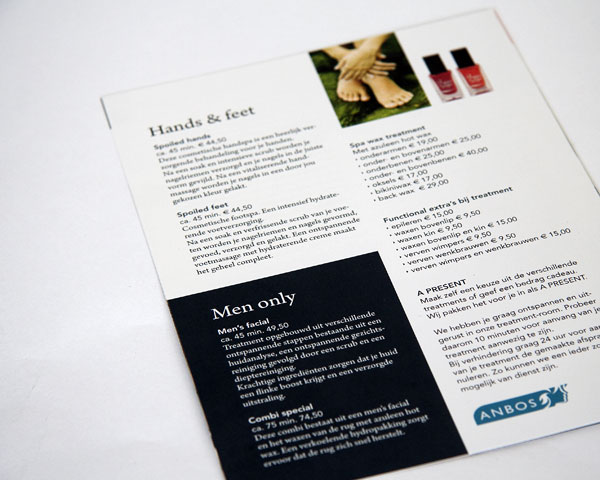 Beauty Treatments - folder