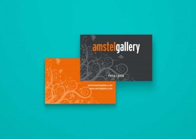 Visitekaartje Amstel gallery