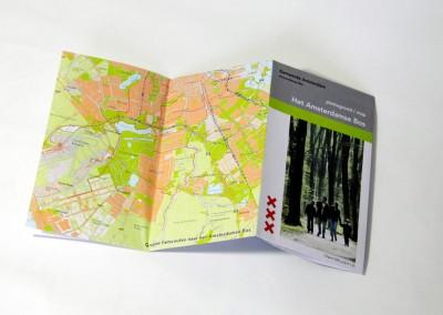 Amsterdams Bos Wandelkaart