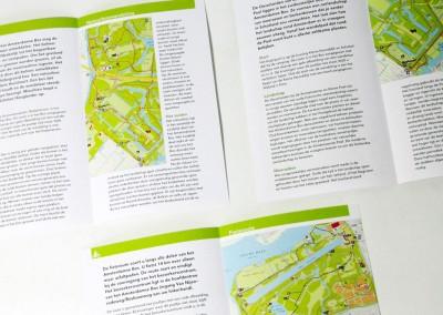 Amsterdams Bos Wandelkaarten