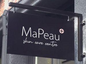 MaPeau uithangbord